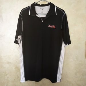 Antigua Shirts - Atlanta Braves Shirt by Antigua EUC L